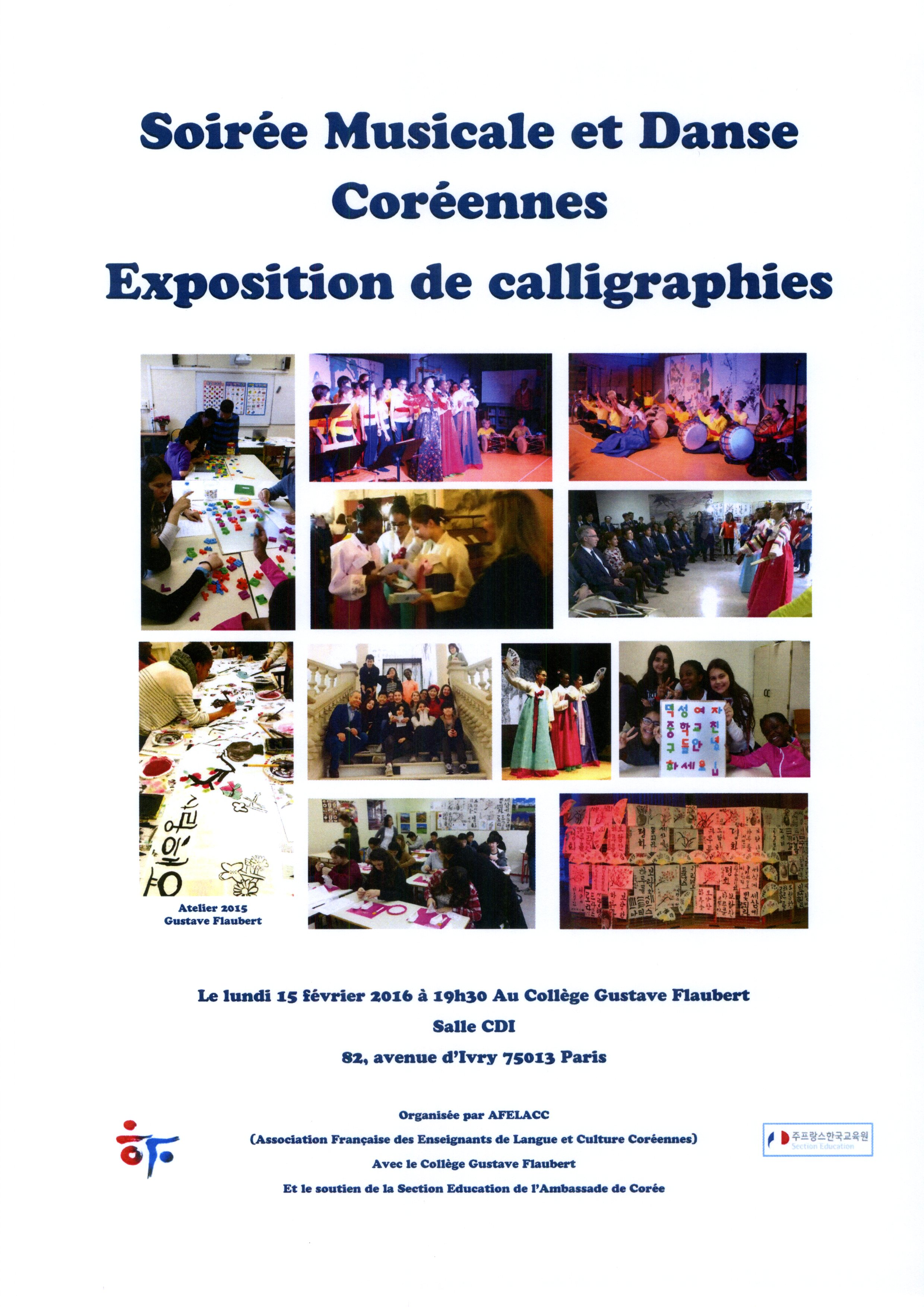 15022016 GF-Soirée Musicale et Dance Coréennes Exposition de callographies.jpg